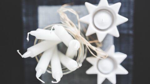 El significado de las velas blancas